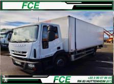 Camion Iveco Eurocargo furgone incidentato