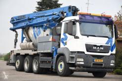 Teherautó MAN TGS 35.400 használt betonkeverő + pumpa beton