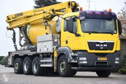 Camión MAN TGS 35.400 hormigón mezclador + bomba usado