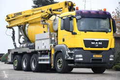 MAN betonkeverő + pumpa beton teherautó TGS 35.400