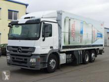 Camión caja abierta transporte de bebidas Mercedes Actros 2544 *Euro 5*Lift/Lenkachse*Retarder*BÄR