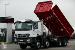 Camion Mercedes ACTROS 4141 / 8X6/3 SIDED TIPPER/MEILLER benă trilaterala second-hand