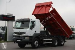Camion benne Renault KERAX 410/6X4/ BORTMATIC/2 SIDED MEILLER KIPPER