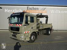 Camião MAN TGM 18.340BB Meiller-2-Kipper, HIAB 122ES3, Funk basculante usado