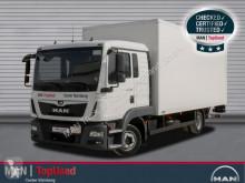 MAN furgon teherautó TGL 8.190 4X2 BL, AHK, Klimaautomatik, Zusatzheizu