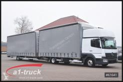 Camión remolque lona corredera (tautliner) Mercedes Atego 823 Orten Jumbo Komplettzug,