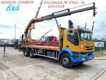 Camião estrado / caixa aberta Iveco Trakker 410