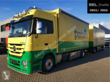 全挂牵引车 侧帘式 奔驰 Actros Actros 1844 /Alu-Felgen /Retarder /with Trailer