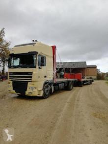 Camião DAF XF 480 estrado / caixa aberta estandar usado