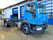 Camión Iveco EuroCargo 4x2 ML 140 E22 BDF Container TOP chasis usado