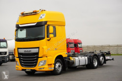 Camion porte containers DAF XF / 510 / E 6 / BDF + WINDA / ACC / RAMA 7,3 M