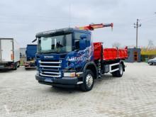 Camion Scania R 270 P270 3-S Kiper + dzwig 4x2 = 4x4 Super stan ! benne occasion
