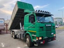 Camion Scania 142 ribaltabile usato