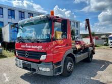 Camión Mercedes Atego 1222 K Tele Absetzkipper Euro 4 volquete usado