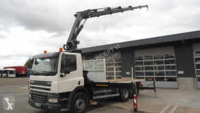 DAF panel carrier flatbed truck CF85 FA 360