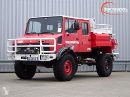 Camião Mercedes Unimog U 1550 L Unimog U1550 L (437) Benz, Doppelkabine, SIDES CCF2000 ltr. - Expeditievoertuig, Camper bombeiros usado
