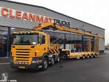 Scania R 480 tractor-trailer used flatbed