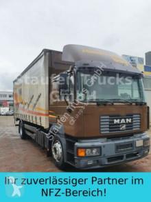 Camión lona corredera (tautliner) MAN 19 314 FBL F 2000 Pritsche / Plane DPF Klima LBW