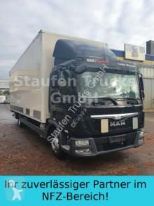Camión furgón MAN TGL 12.250 8,14 m Koffer LBW Klima EURO 6