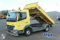 Mercedes three-way side tipper truck 824 K Atego 4x2, euro 5, Meiller, 2x AHK, 240PS