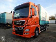 Camion MAN TGX 26.500 BDF mit Wechselbrücke 6x2 Liftachse telaio usato