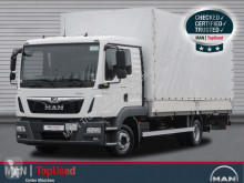 Camião MAN TGL 8.180 4X2 BL, L-Haus, LBW 1000kg, Klima caixa aberta com lona usado