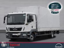 Camión MAN TGL 12.220 4X2 BL, L-Haus, LBW lona corredera (tautliner) usado