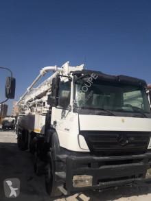 Mercedes Axor 4140 truck used concrete pump truck