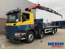 Camión caja abierta Scania P 420