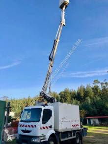 Camión plataforma elevadora telescópica Renault Midlum 220