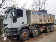 Camión Iveco Eurotrakker 410E42 volquete volquete trilateral usado