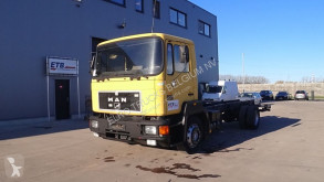 Camion telaio MAN 14.272 (FULL STEEL SUSPENSION / 6 CYLINDER ENGINE WITH MANUAL PUMP)