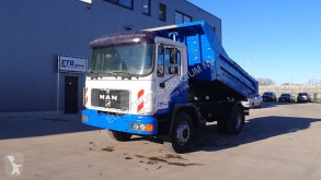 Camion MAN 18.262 (BIG AXLE / STEEL SUSPENSION / 6 CYLINDER WITH MANUAL PUMP) ribaltabile usato