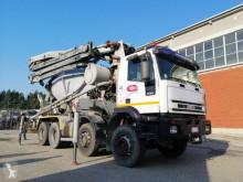 Camion Iveco Eurotrakker 410E44 H calcestruzzo betoniera mescolatore + pompa usato