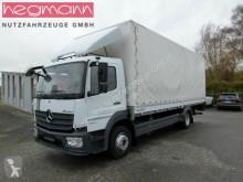 Camión lona Mercedes 1224 L, Pritsche-Plane,LBW, AHK, Klima, DE