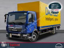 MAN tarp truck TGL 12.220 4X2 BL Dachser LBW AHK Klima LBW