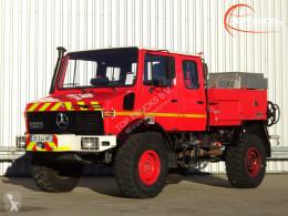 Mercedes fire truck Unimog 1550L Unimog U1550 L (437) Benz, Doppelkabine, SIDES CCF2000 ltr. - Expeditievoertuig, Camper