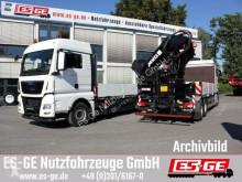 Camion plateau MAN TGX 26510 6x2-2 LL mit MKG-Ladekran HLK531 a5