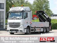 Camião MKG HLK Mercedes-Benz 2546 L 6X2 ACTROS, Pritsche, 531 estrado / caixa aberta usado