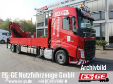 Camion plateau Volvo FH 466 CHH-LOW 6x2 mit MKG HLK 531HP a5