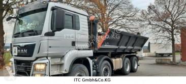Camión volquete volquete trilateral MAN TGS TGS 35.440 Meiller/Stahl/Bordmatik