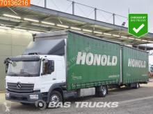 Kamion s návěsem Mercedes Atego posuvné závěsy použitý
