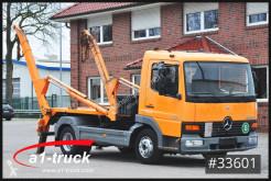 Camión de asistencia en ctra Mercedes Atego 818 Absetzkipper Meiller TÜV 11/2021
