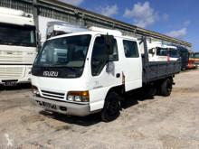 Isuzu three-way side tipper truck NPR Double Cabin