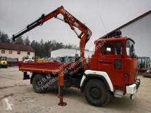 Camion Deutz Magirus FM 130 D Umbau Feuerwehr-Kran u. LOF-Zulassung! plateau occasion