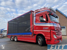 Camión remolque ganadero para ganado bovino Mercedes 2751 Euro6, pluimvee SOLO