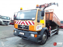 Camion benne MAN 19.284 +atlas ex city