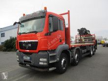 MAN TGS 35.400 truck used standard flatbed