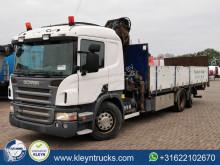 Camião Scania P 420 estrado / caixa aberta usado