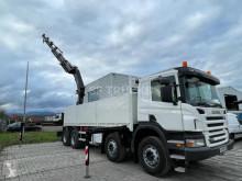 Camião Scania P 380 estrado / caixa aberta estandar usado